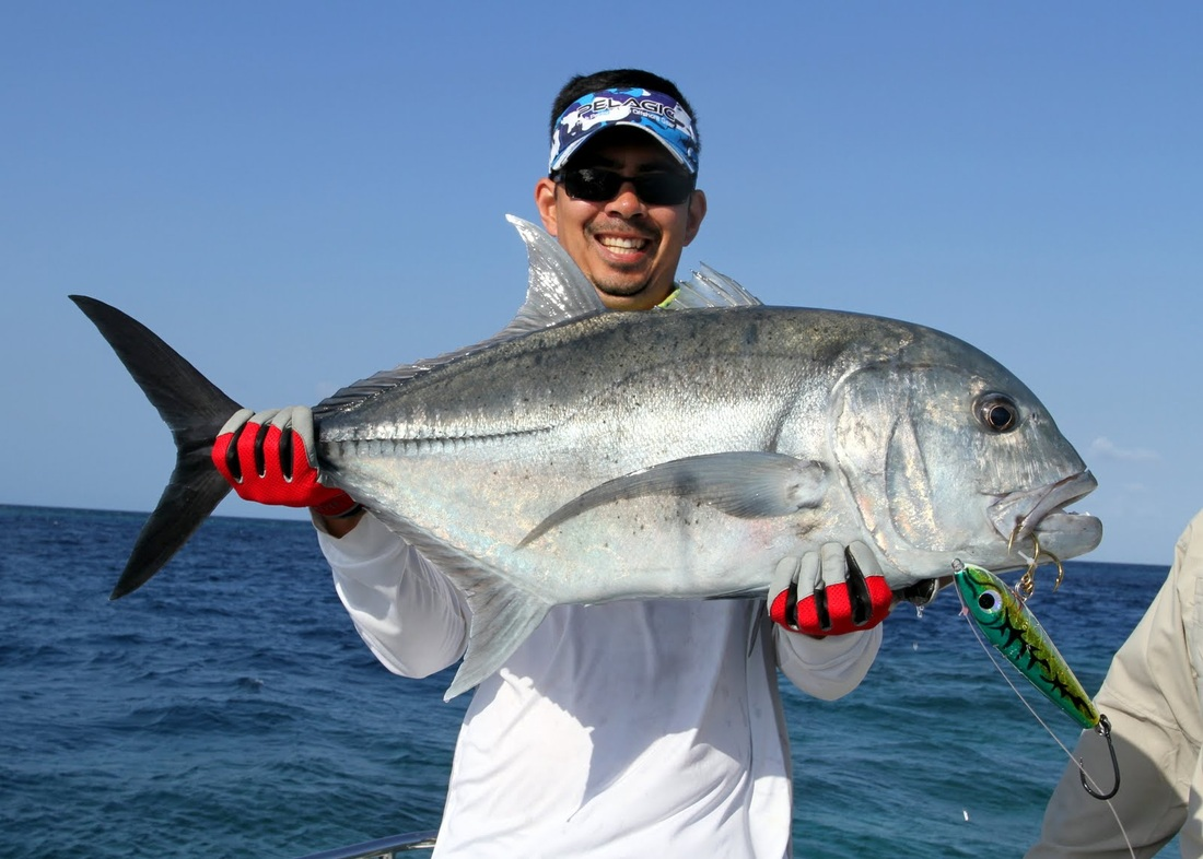 how to catch giant trevally ulua tips for fishing for